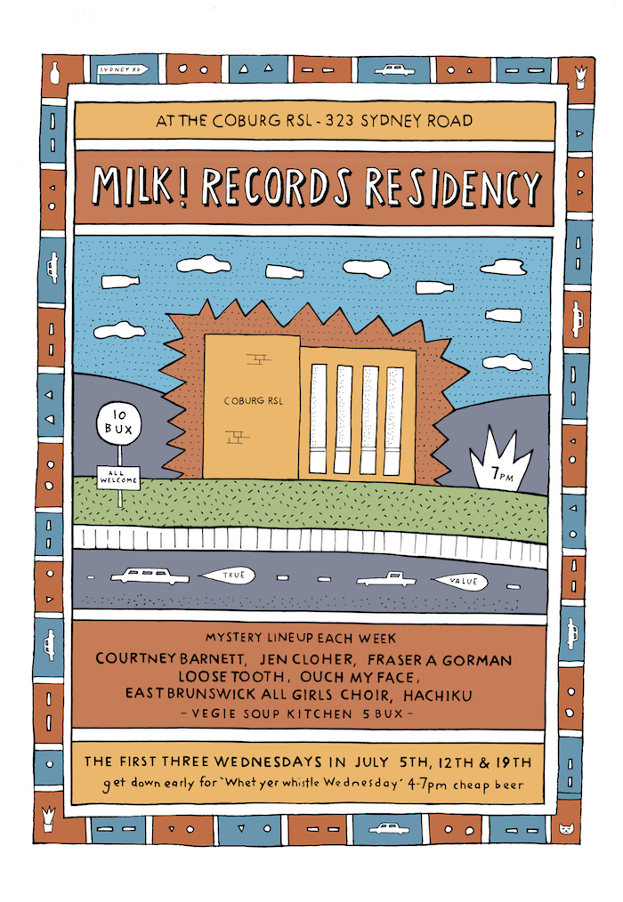 Milk! Records Coburg Residency