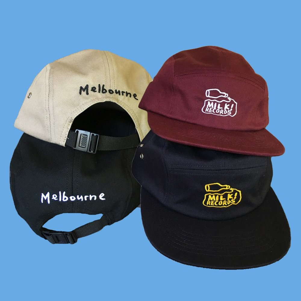 Milk! Records logo hat