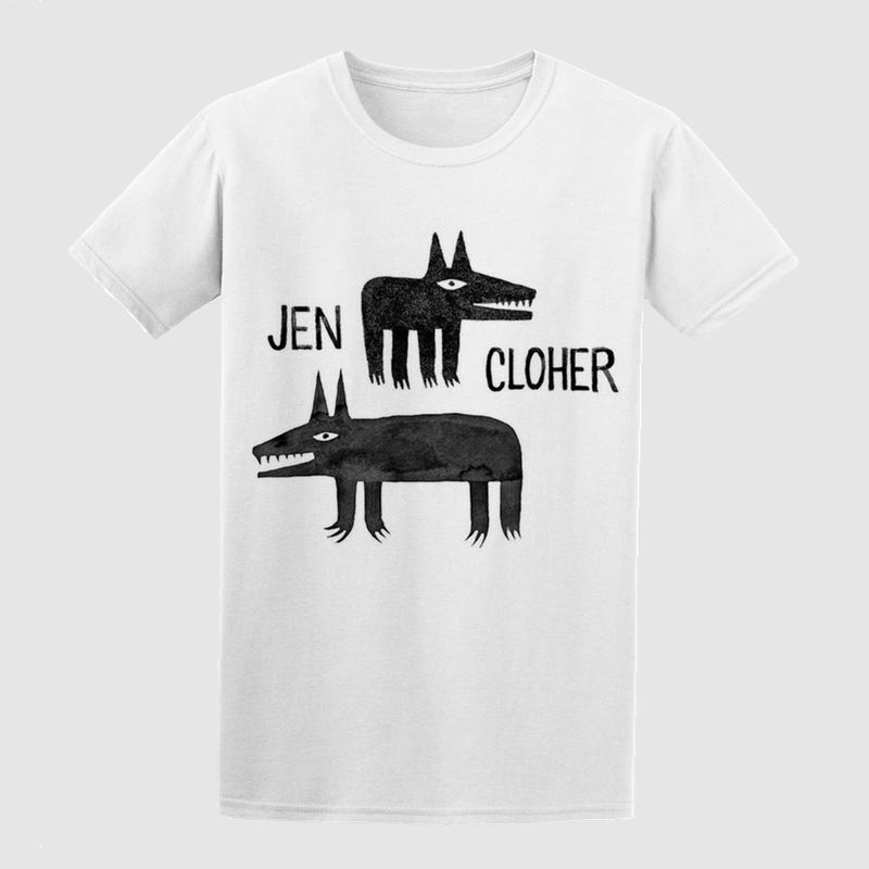 Jen Cloher Minna Leunig Tshirt White