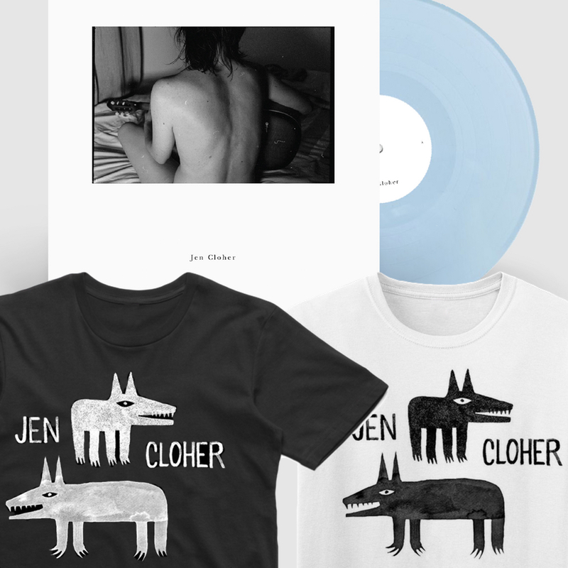 Jen Cloher Tshirt and Vinyl artwork by Minna Leunig