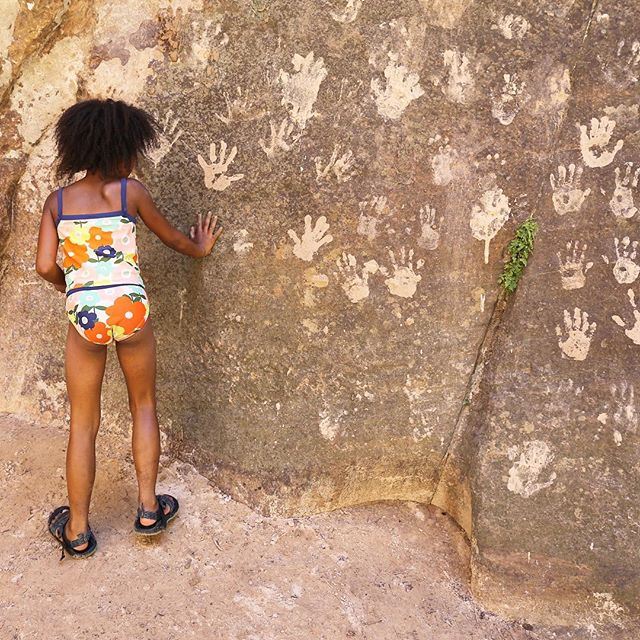 Have you left your mark on the #handprintwall in Zion National Park? #chaconation