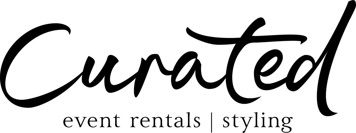 Curated Event Rentals | Styling