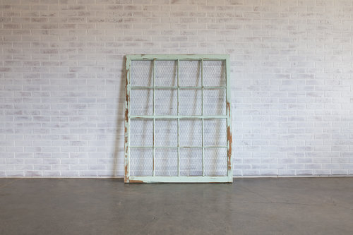 Chicken Wire Window Frame — Curated Event Rentals   Styling