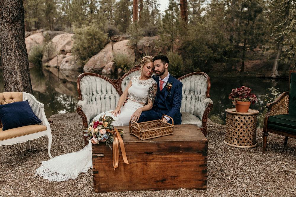 Intimate Rock Springs Ranch Wedding