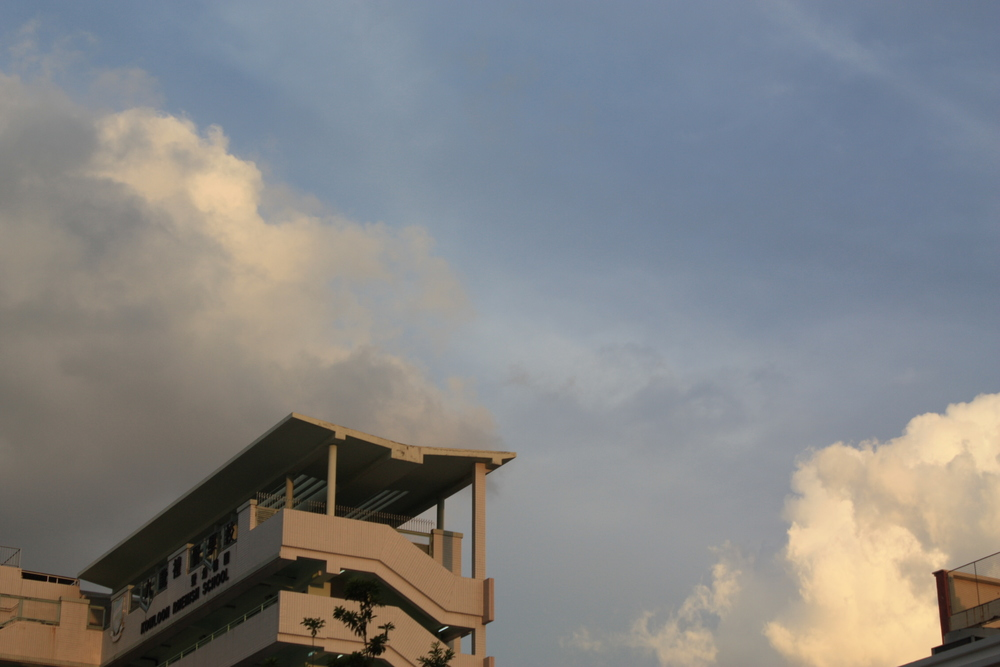 Beautiful skies amirite?