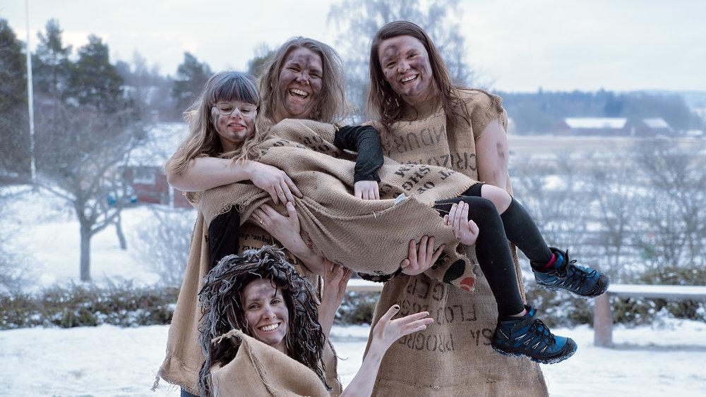 - Den 23 februari firade Solberga maskeraden. Temat i år var