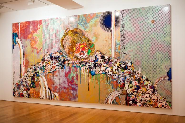 takashi-murakami-flowers-amp-skulls-exhibition-gagosian-gallery-hong-kong-recap-7