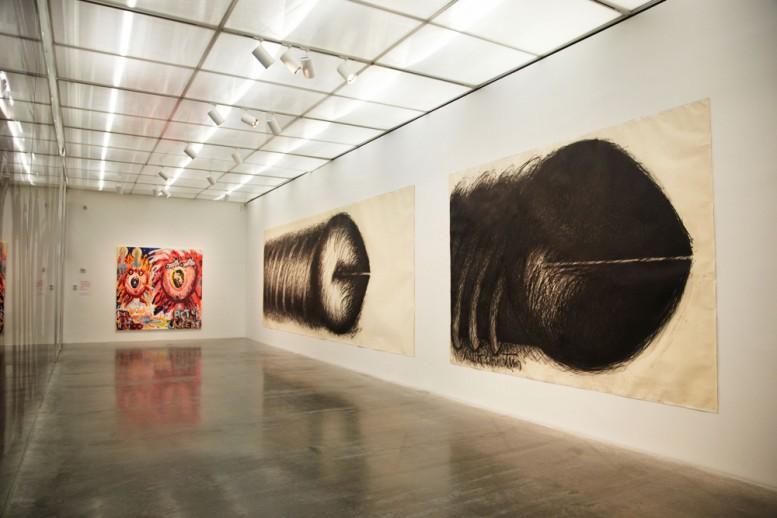 Judith_Bernstein_hard_new_museum