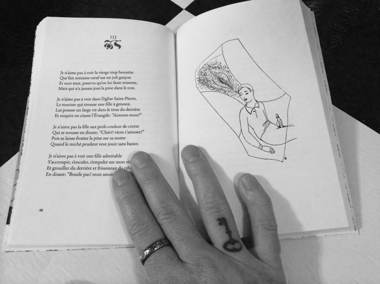 Pornographic Poetry by Pierre Louÿs and Illustrations by Toyen