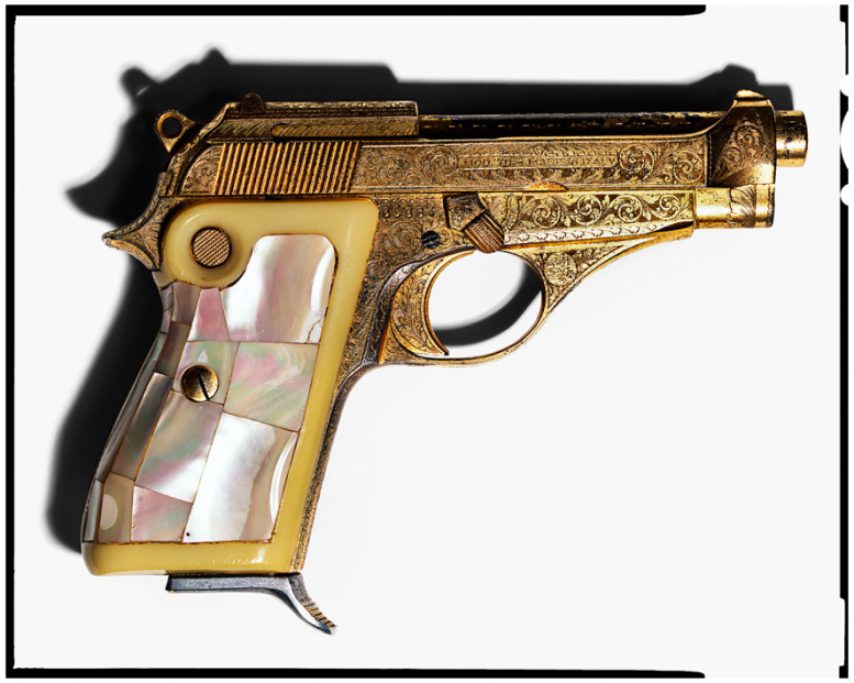 Gold Beretta Elvis
