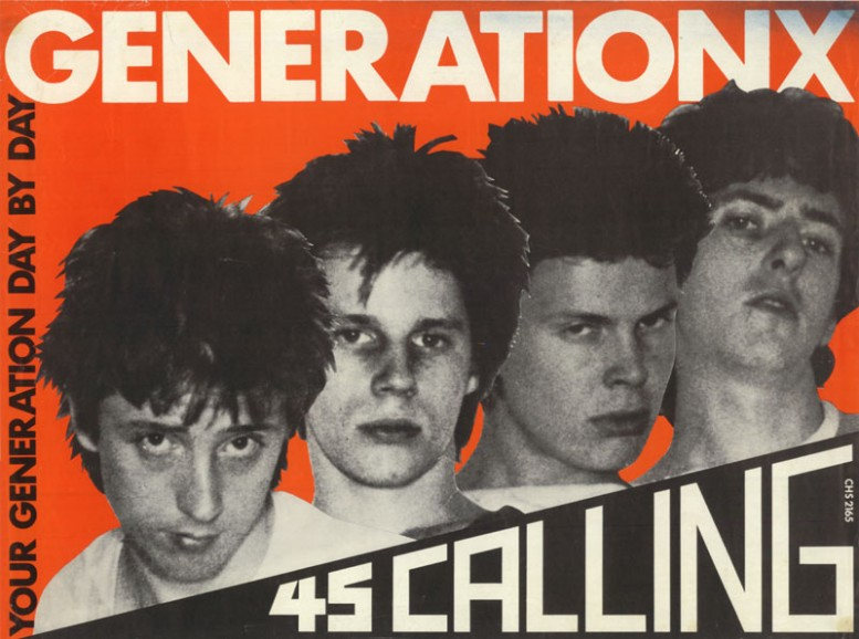GENERATIONX4S CALLING_rude_and_reckless_post_punk_graphics_steven_kasher_gallery