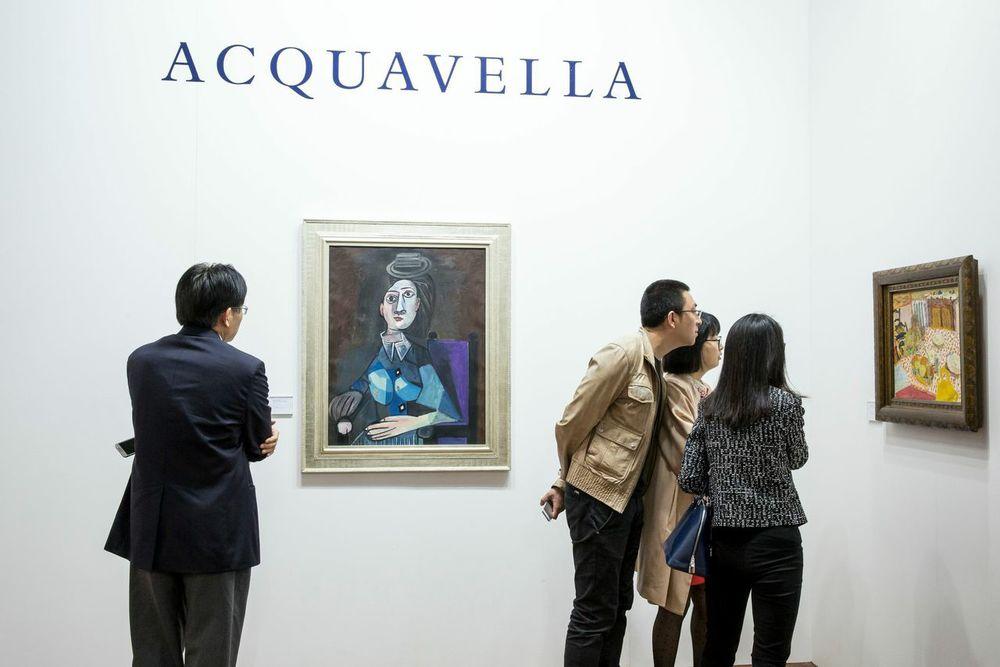 Picasso at Acquavella