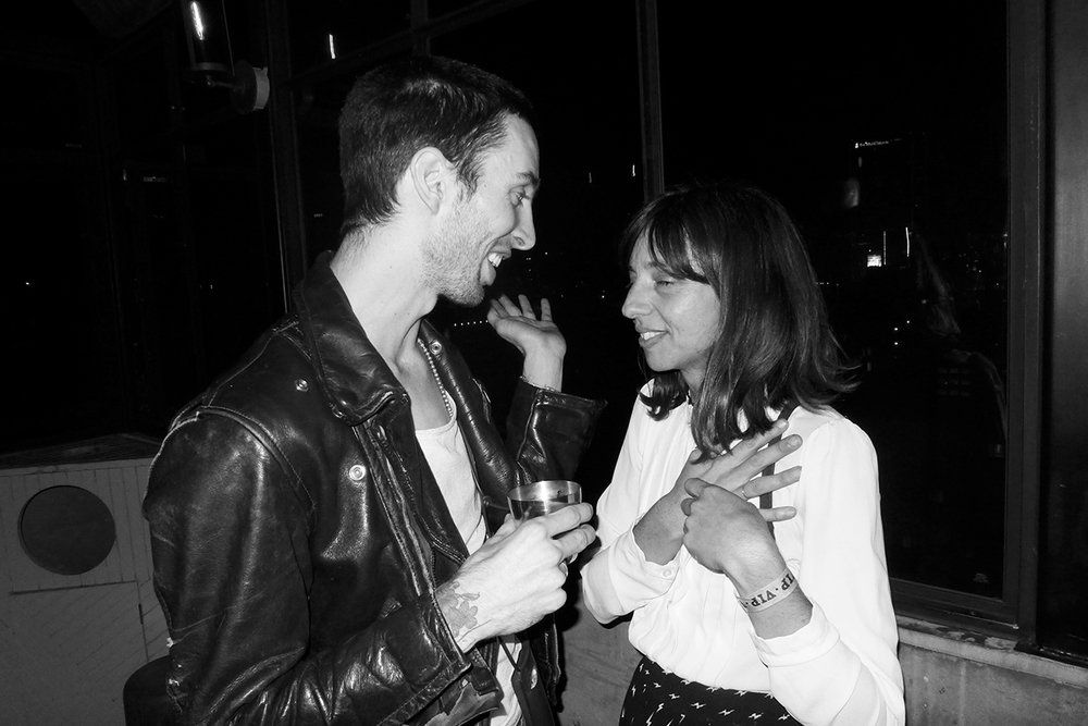 Clark Phillips and  Paz Lenchantin