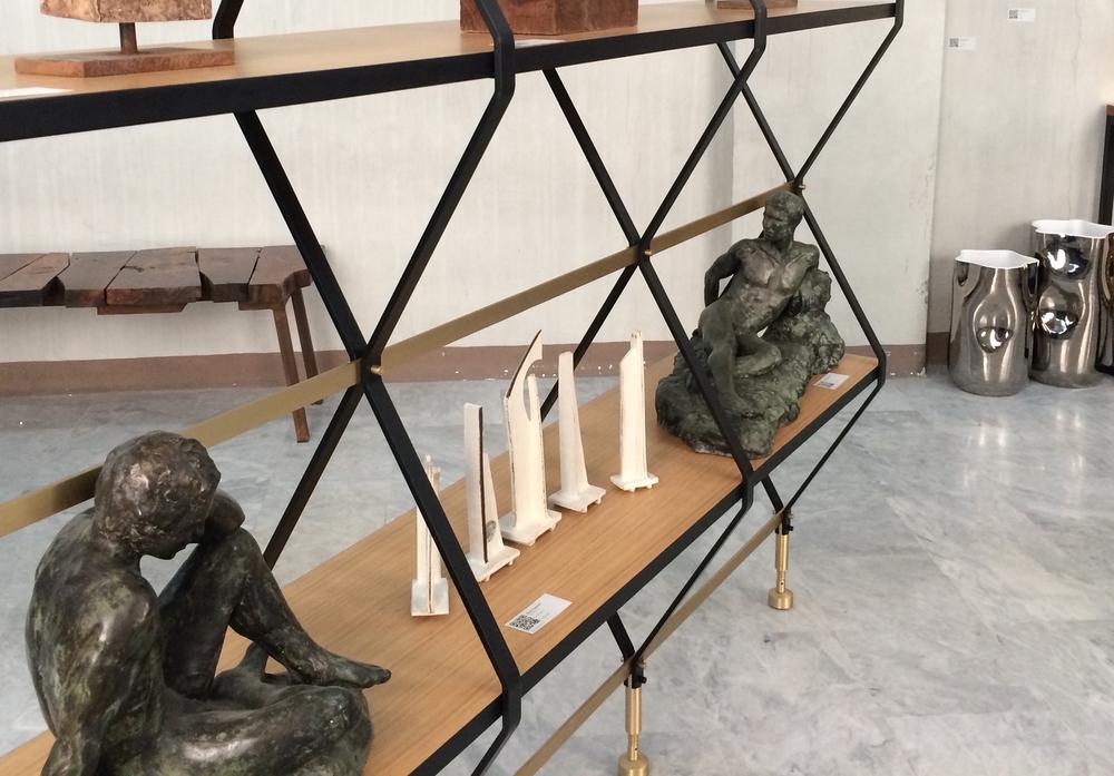 Pietro Russo - Diamond-Shaped Bookshelf