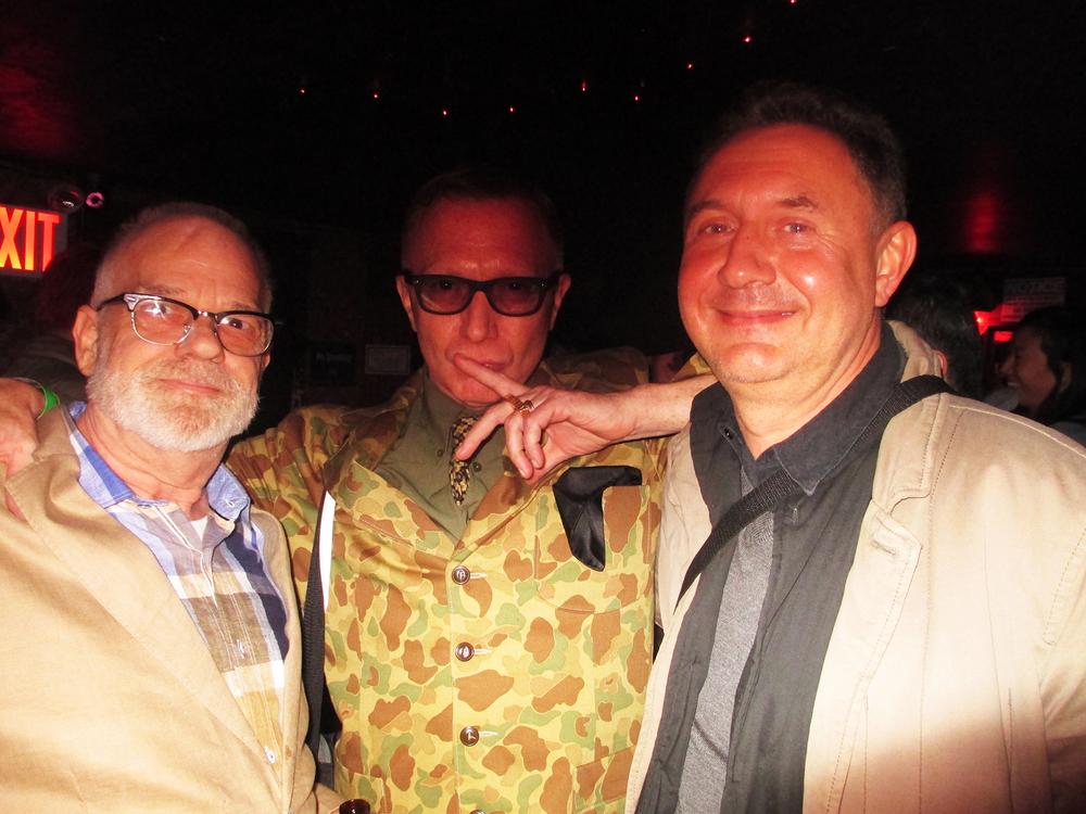 Bruce with Marius Z Urbaniak (right) Jack Sanders on Left