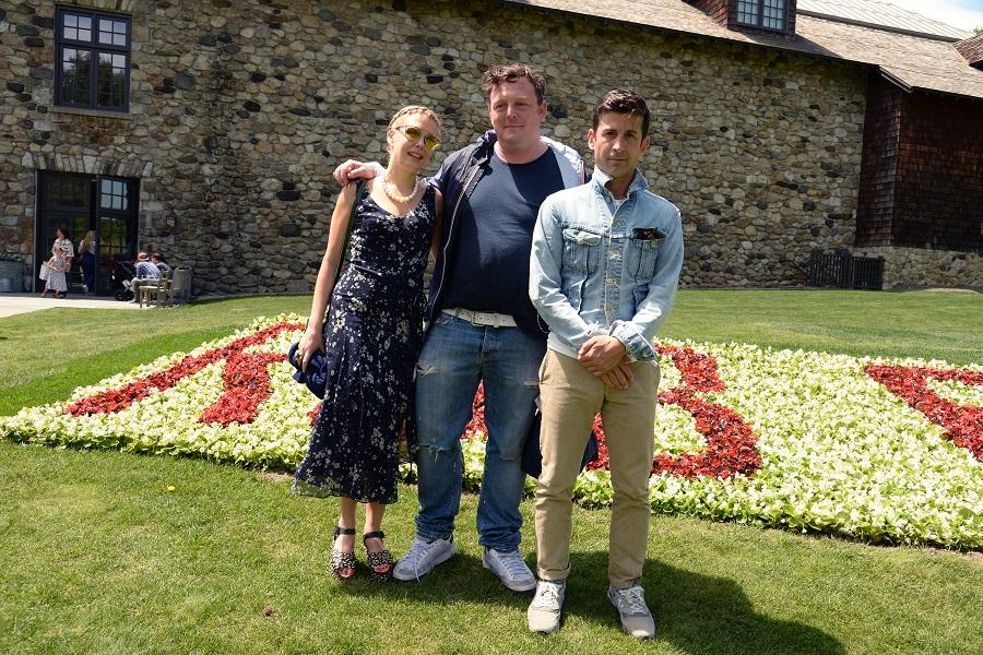 Tara Subkoff, Urs Fischer, and Andrés Saravia