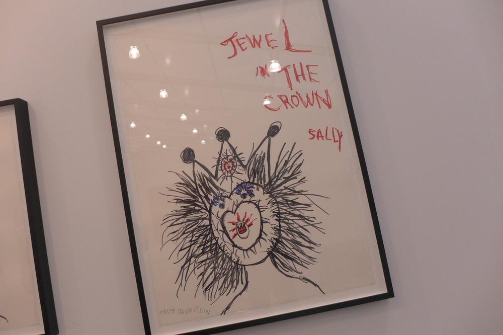 Judith Bernstein at the Box Gallery
