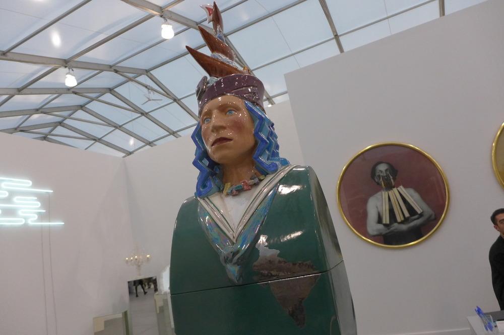 Luigi Ontani at Galleria Lorcan O'Neill Roma
