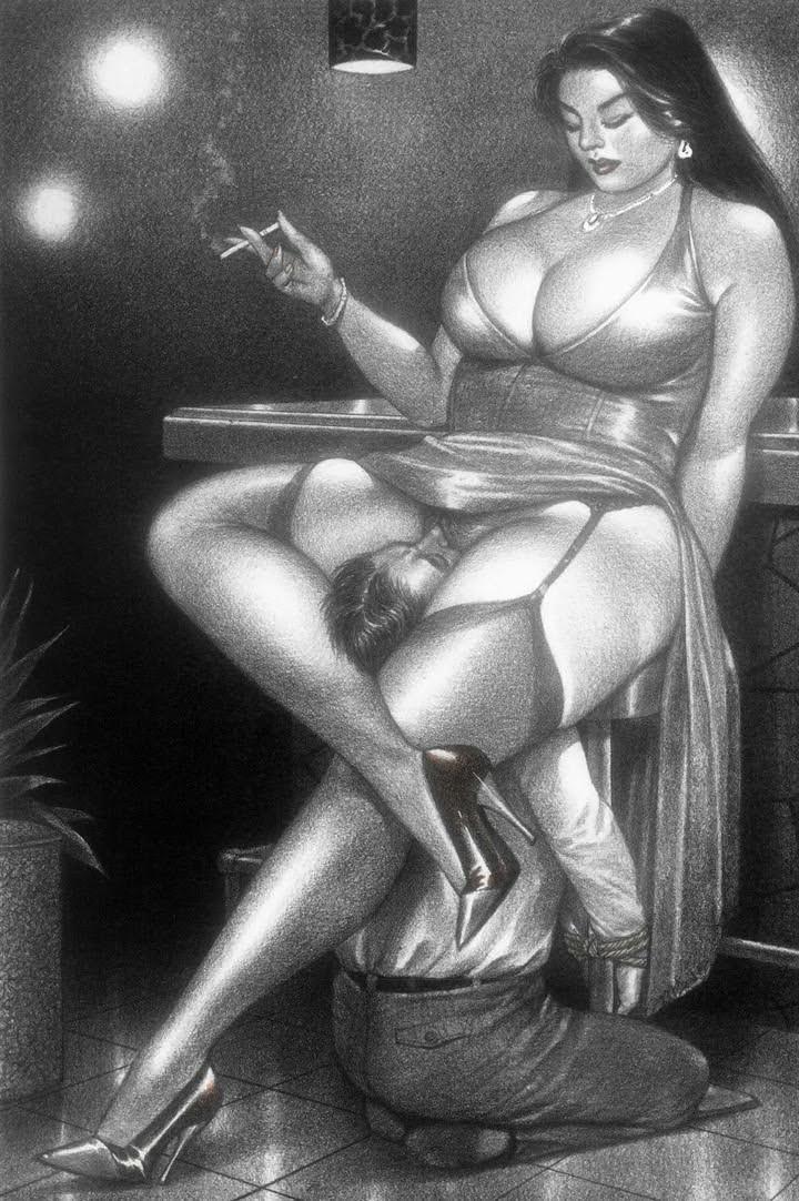 erotica facesitting Femdom