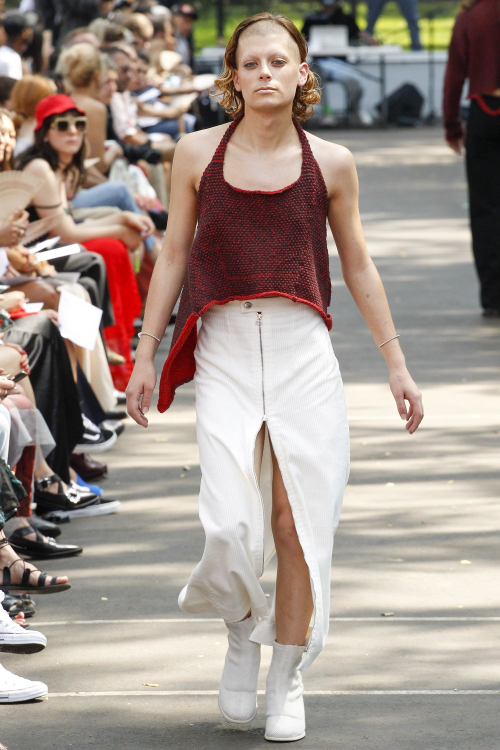 a7c09aa52f75 For their SS 2017 collection, the duo's 10th, designers Mike Eckhaus and  Zoe Latta brought it home. Opting to show the collection in the Lower East  Side's ...