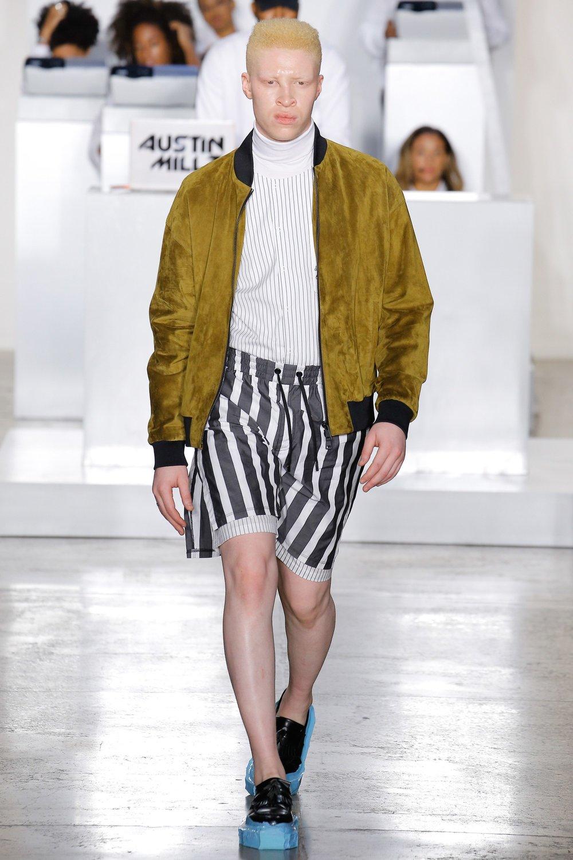 5a65532267 Pyer Moss designer Kerby Jean Raymond subverted the fashion senses of evil  Wall Street fuckfaces like Patrick Bateman, Bernie Madoff, and Donald Trump  in ...