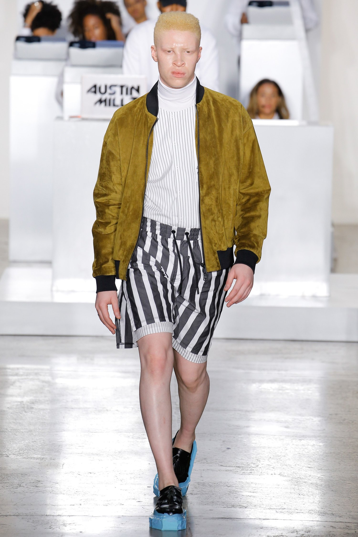 4835c3f5 ... the fashion senses of evil Wall Street fuckfaces like Patrick Bateman,  Bernie Madoff, and Donald Trump in his brand's Spring-Summer 2017 collection .