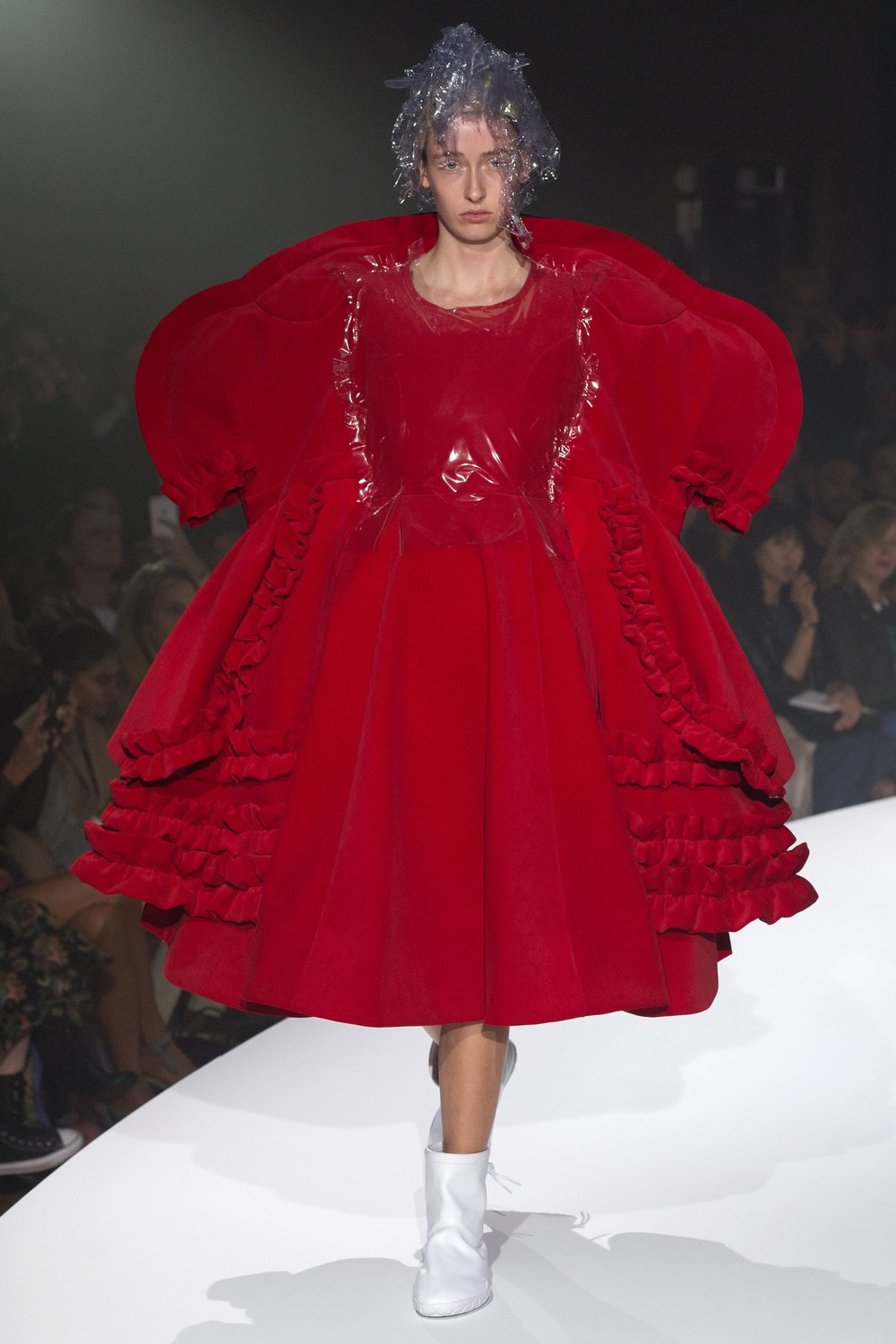 6a94c54a6e78 You don t watch Comme des Garcons  main line collections anymore to find  new pieces to buy. You watch it to feel awe. Rei Kawakubo has been slowly  emerging ...
