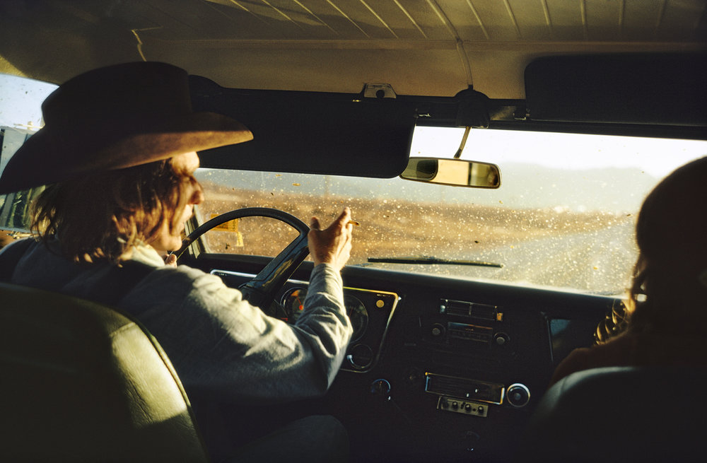 Untitled, 1970-74 (Dennis Hopper) by William Eggleston ©Eggleston Artistic Trust