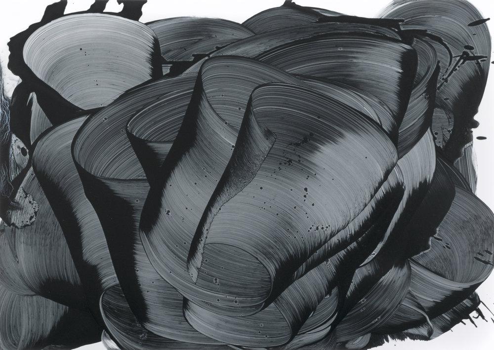 Stacie McCormick, UO Maelstrom, 2018, Oil on Paper, 59 x 42 cm.jpg