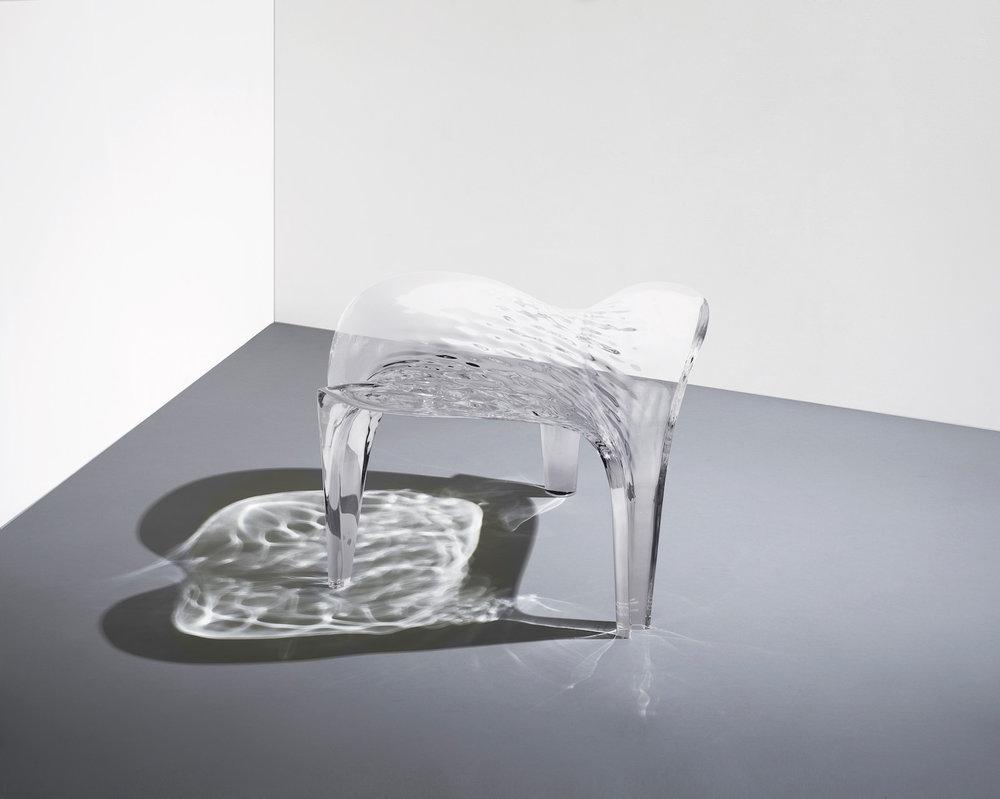 NOMAD St.Moritz_David Gill Gallery_Stool 'Liquid Glacial'_ph.courtesy David Gill Gallery.jpg