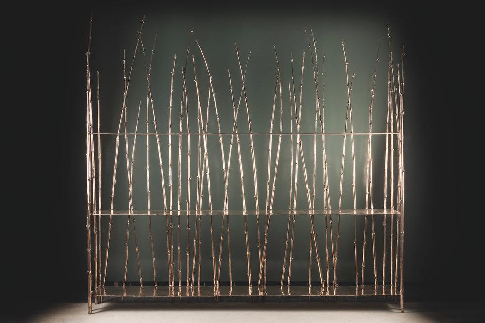 NOMAD St.Moritz_Nilufar Gallery Milan_Bamboo Collection bookshelf_Osanna Visconti di Modrone_ph.Daniele Iodice.jpg