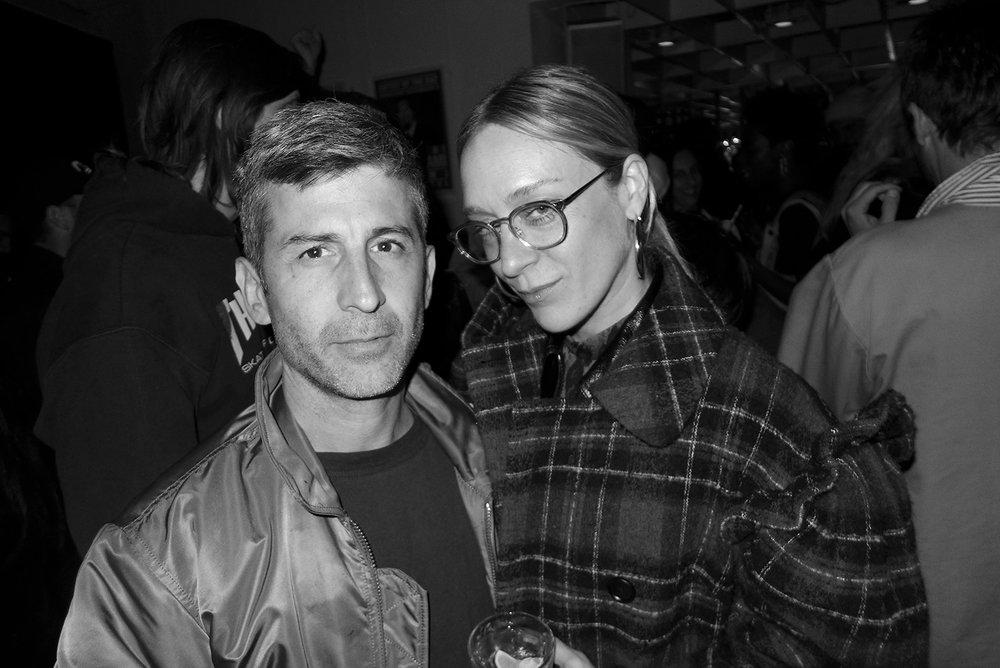 Andre Saraiva & Chloe Sevigny