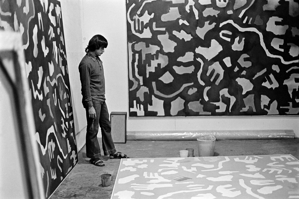 Robert Duran in his studio, 431 Broome Street, New York, c. 1968. Photograph by Stephanie Chrisman