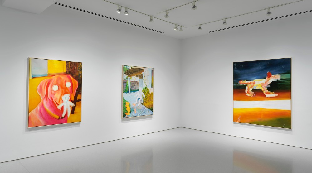HARMONY KORINE Young Twitchy, 2019, Installation Views © Harmony Korine. Photo: Rob McKeever. Courtesy Gagosian.
