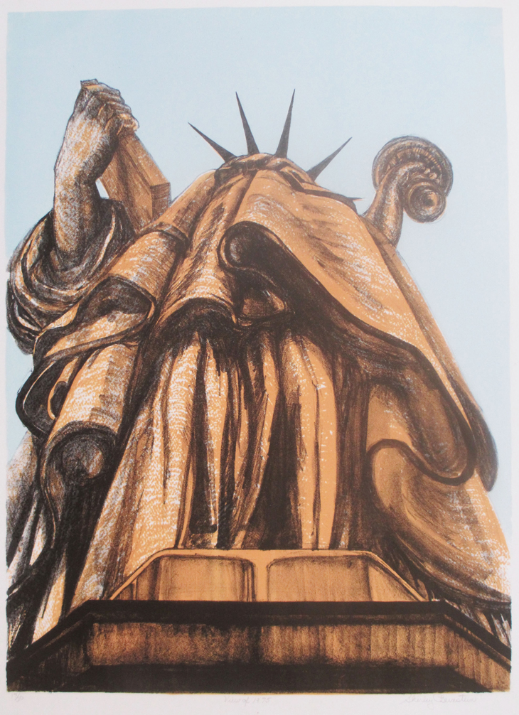 Shirley Bernstein View Of, 1975 Screenprint and lithograph, 26 x 19 in. Courtesy the artist