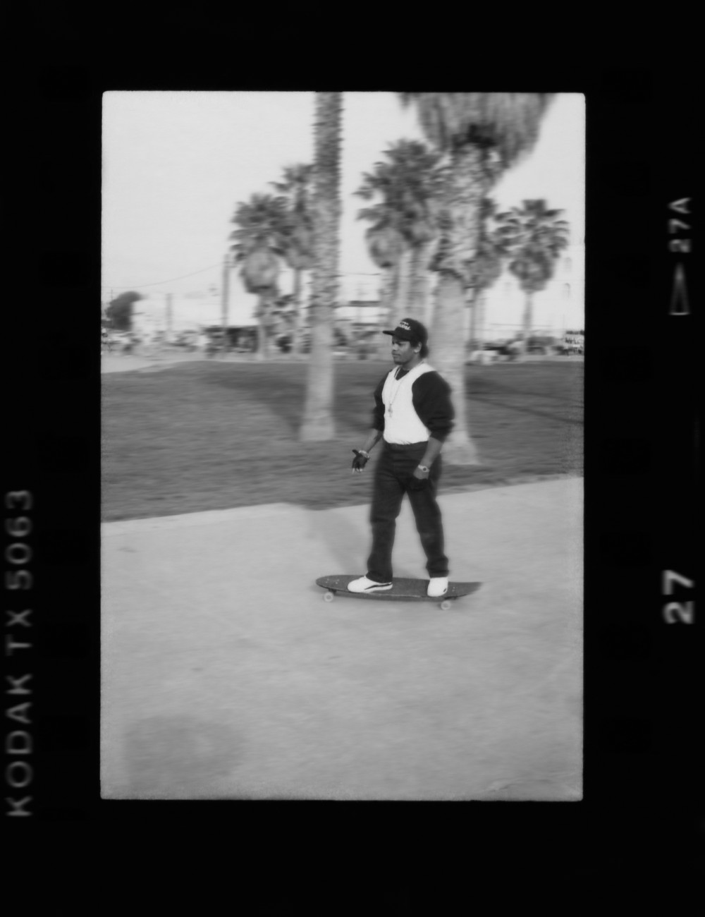 15. Eazy-E from N.W.A, skateboarding (1989). Photo by Ithaka Darin Pappas..jpg