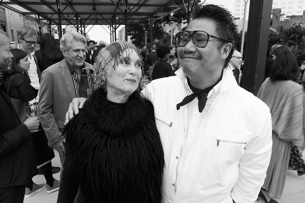 Elsa Longhauser and Kulapat Yantrasast
