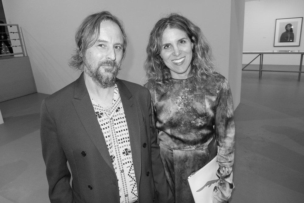 Sterling Ruby and Melanie Schiff