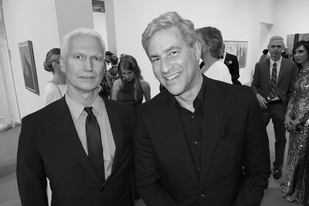 Klaus Biesenbach and Michael Govan