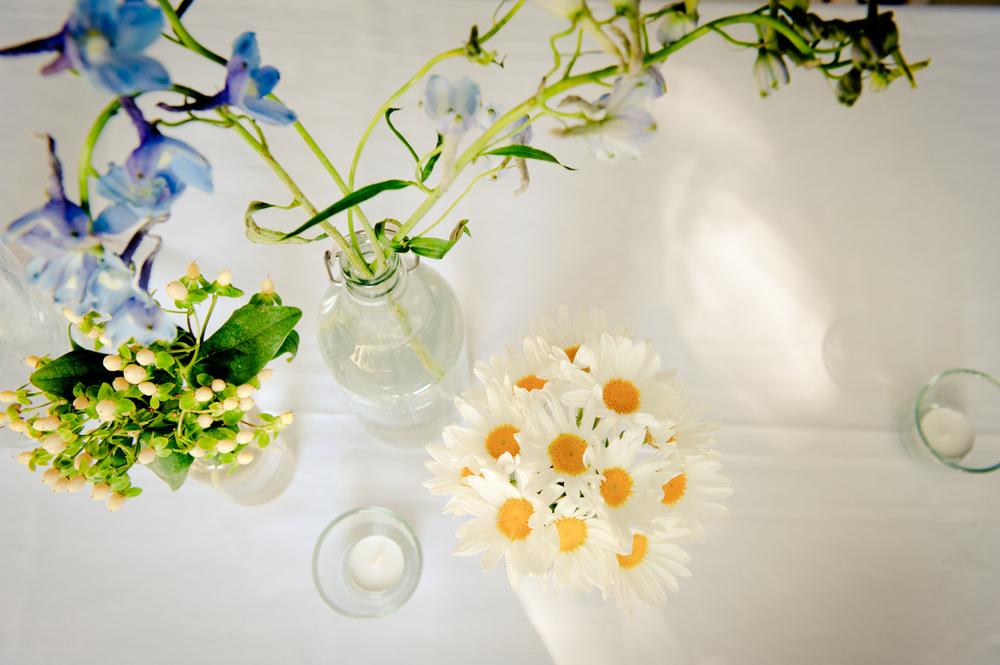 Verspielte Hochzeitsblumen
