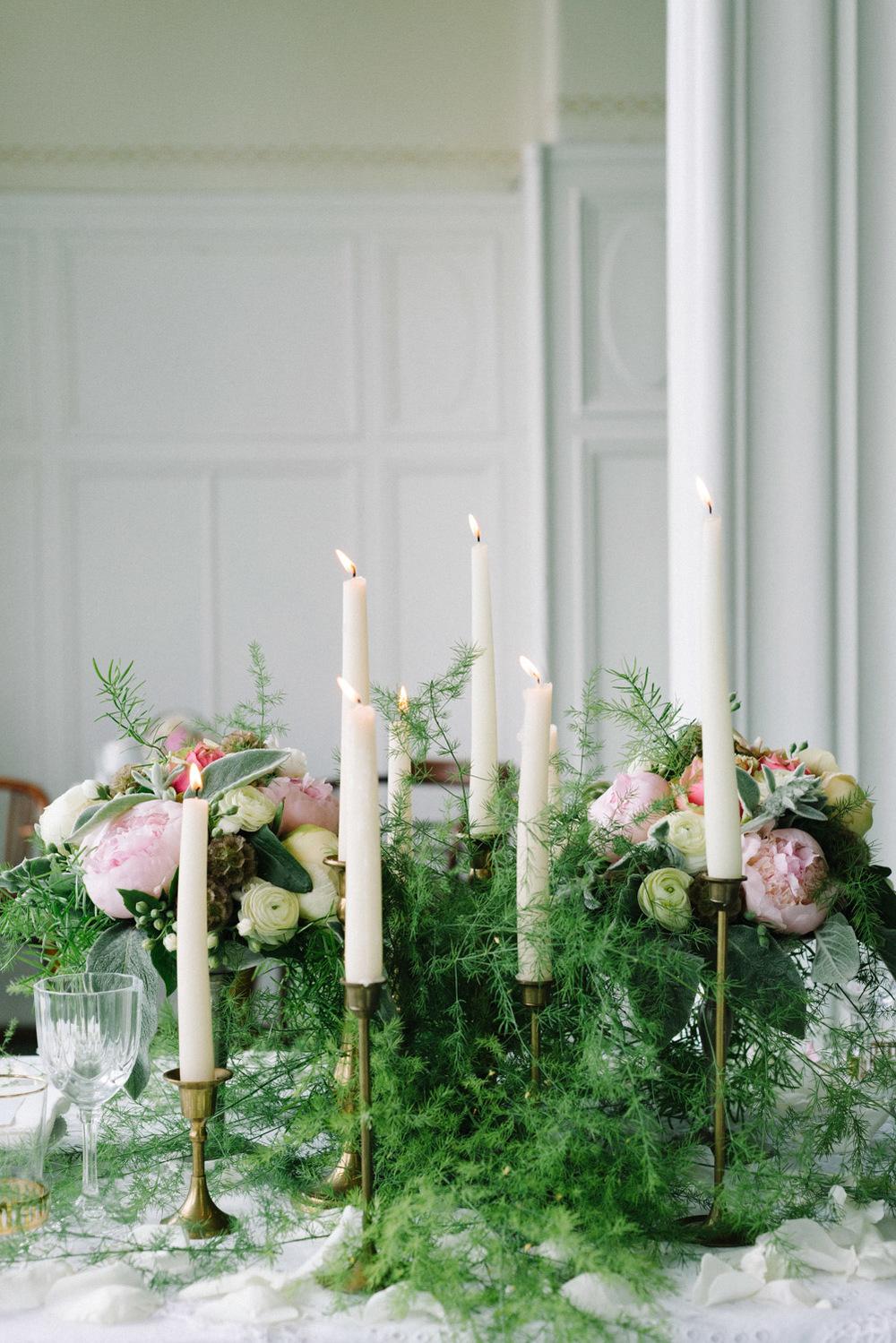 Blumenschmuck Hochzeitstafel