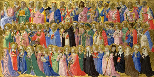 The Forerunners of Christ with Saints and Martyrs