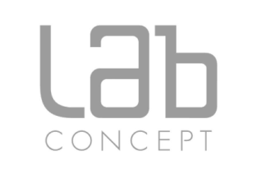 lab concept logo
