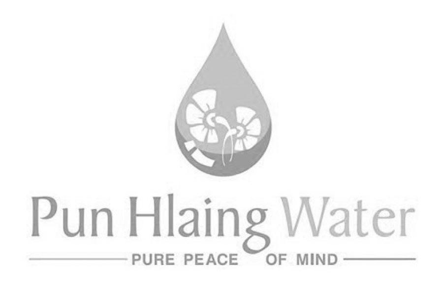pun hlaing water logo
