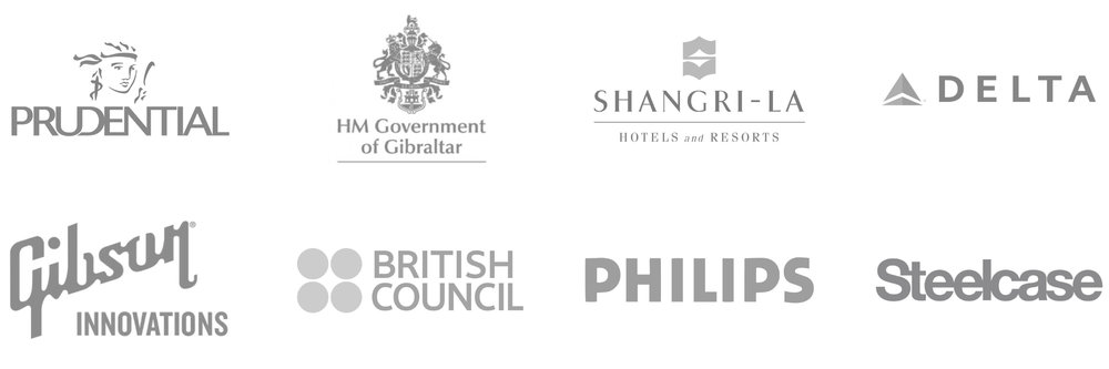 Page1-Logos+Prudential+HM-Government-of-Gibralter+Shangri-La+DELTA+Gibson-Innovations+British-Council+Philips+Steelcase