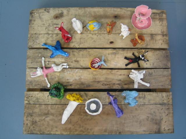 Clay creatures 2001