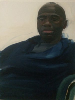 Cedric 2015 76 x 50 cm oil on canvas