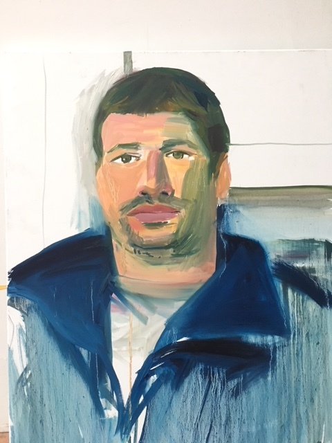 Nicolo 2015 oil on canvas 76 x 50 cm