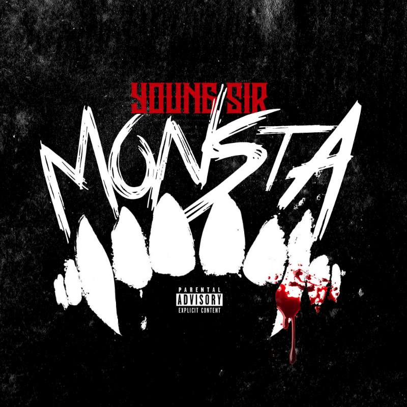 "With his thought provoking lyrics and uniquely classic hip hop sound, Young Sir comes through with his new single, ""Monsta."" Available on  iTunes !"