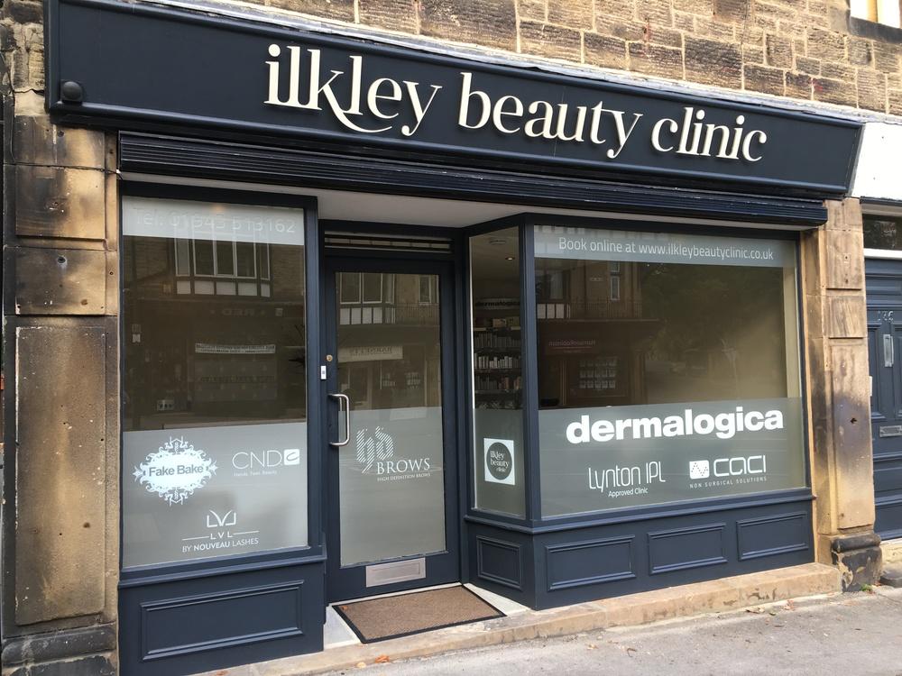 Ilkley Beauty Clinic Shop Front